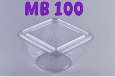 Plastik Mika PET Bening Food Grade Salad Es Kepal Milo