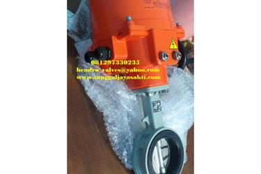 Butterfly Valve With Motorized Belimo