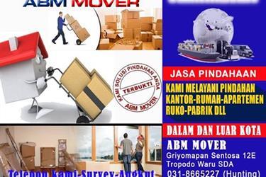 Jasa Pindah Rumah Kantor Kos Mobil Motor ABM Mover Surabaya