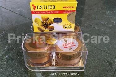 Esther Gold Mika Asli Paket Sabun Batang
