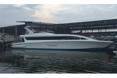 Kapal speedboat penumpang passenger 17 m (55 feet) ACCURA 55