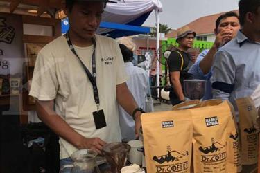 Harum aroma kopi menyerbak di Kota Tua