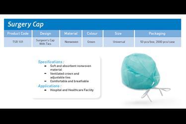 Penutup pelindung kepala Surgery Cap Trasti