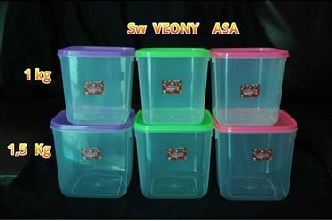 Toples Segi plastik Veony merk ASA