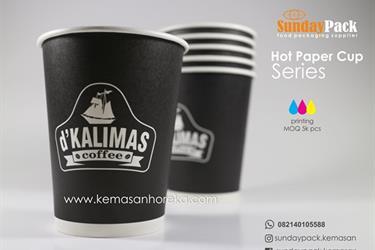Papercup Gelas Kertas Cetak Logo Full Color Di Surabaya