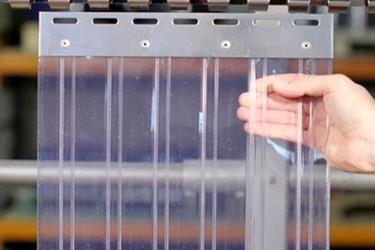 Tirai PVC Curtain Plastik-Clear 2mmx20cm