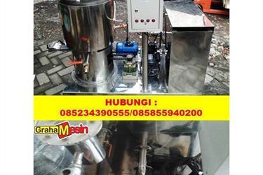 Mesin Evaporator Vacuum Pengurang Kadar Air Minyak Vco