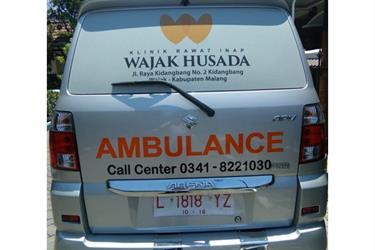 Modifikasi Ambulance Klinik Wajak Husada Malang