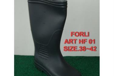 Sepatu Boot Forli Panjang Hitam Dan Hijau