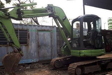 FOR SALE JUAL Excavator Komatsu PC75 UU3 Ex Rental Surabaya