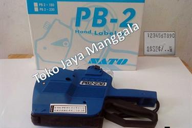 Mesin penempel harga SATO PB2-230( hand gun label 2 line)