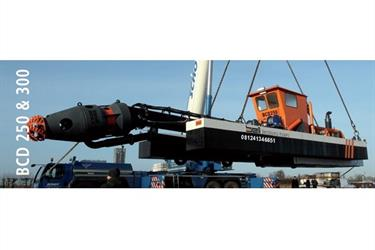 Kapal Keruk CSD cutter suction dredger pompa pasir lumpur