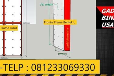 Pabrikasi Frontal Frame Fender Dermaga
