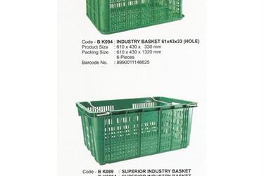Keranjang industri krat plastik Merk Maspion