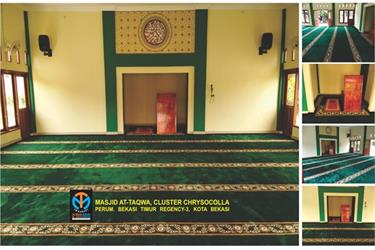 Karpet Masjid Ready Stock