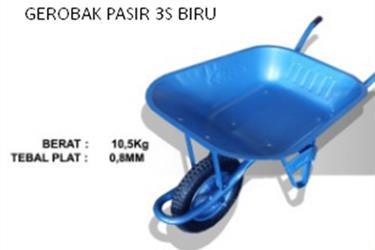 Gerobak Pasir 3S - Biru