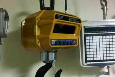 CRANE SCALE WIRELESS DISPLAY Capacity up to 100 ton