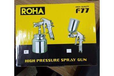 ROHA spray gun 2 model F77G dan S TABUNG atas dan bawah
