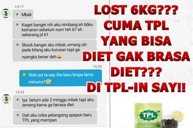Distributor Teh Peluntur Lemak ( New Tpl) Surabaya