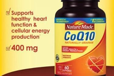 Nature Made CoQ10 400 mg., 60 Softgels.