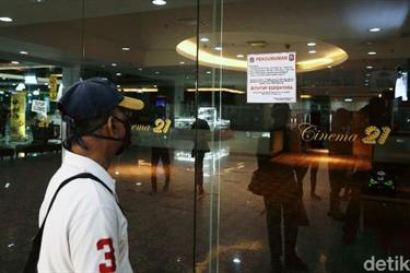 Jokowi Warning Corona Lampu Merah, Bioskop Tetap Buka 29 Juli
