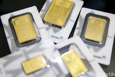 Nah! Harga Emas Antam Lengser dari Rp 1 Juta/Gram