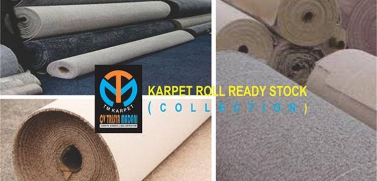 Karpet Roll  Meteran