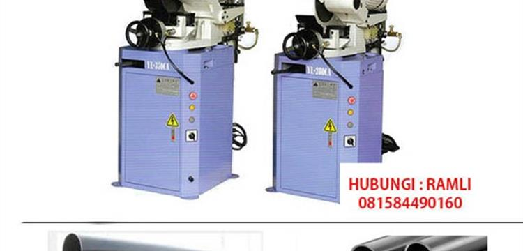 Mesin Circular sawing cutting pipa