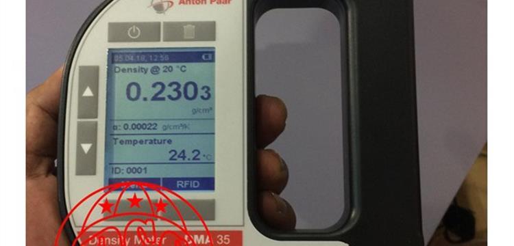 DMA 35 Portable Density Meter Anton Paar