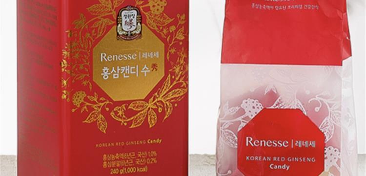 Suplemen Renesse Red Ginseng Candy CheongKwanJang Premium Snack