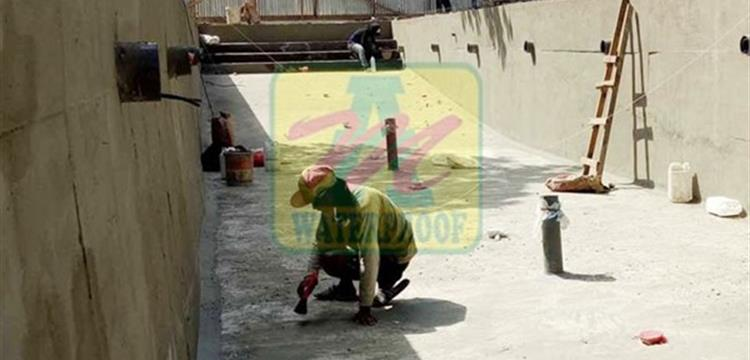 Jasa Aplikasi Waterproofing Coating Sement Base