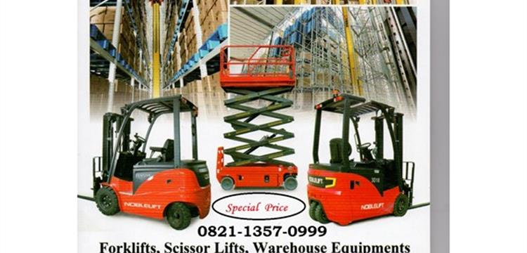 Harga Jual Forklift Murah