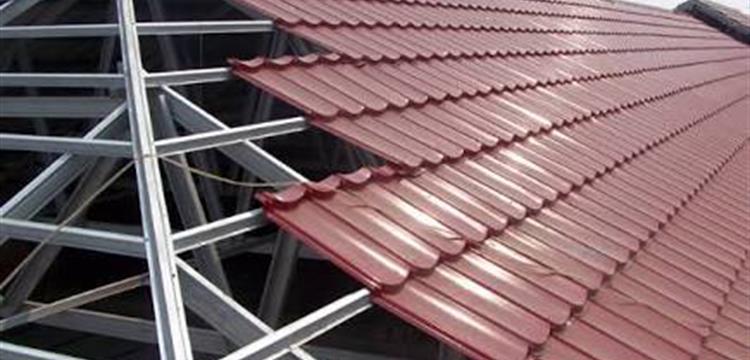 Pemasangan Rangka Atap Bajaringan
