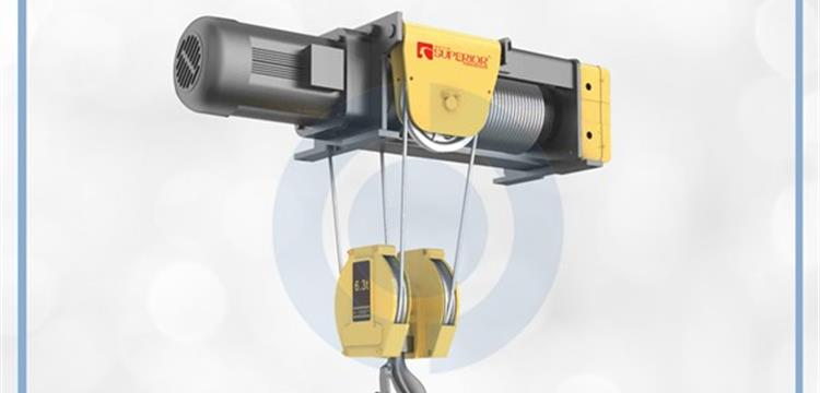 Superior Foot Mounted Wire Rope Hoist Type SHA7 Series