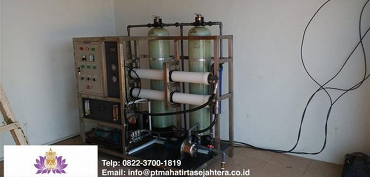 Sea Water Reverse Osmosis Machines 15.000Lt 24 Jam