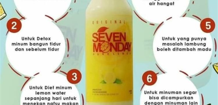 Supplier Pure Lemon Seven Monday