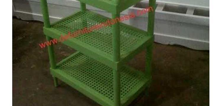 rattan furniture Rattan shelf Shoe s n Sandals defurnitureindonesia DFRIO - 15