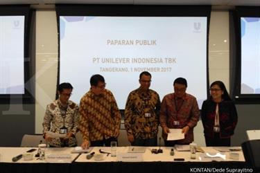 Unilever Indonesia rombak posisi direksi dan komisaris