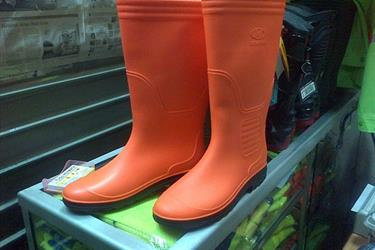 Sepatu Boot Oranye Dinas Kebersihan Dan Ppsu