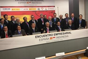 RI Bidik Bangun Infrastruktur di Spanyol