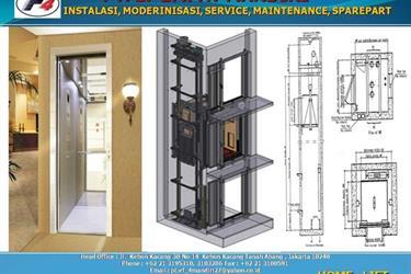 Lift Home Lift Rumah